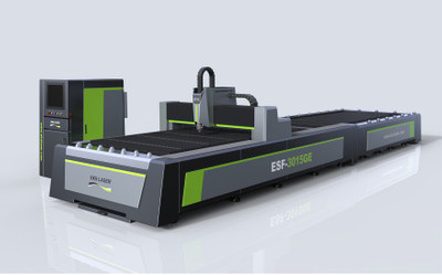 Open type high efficiency interchangeable table laser cutting machine