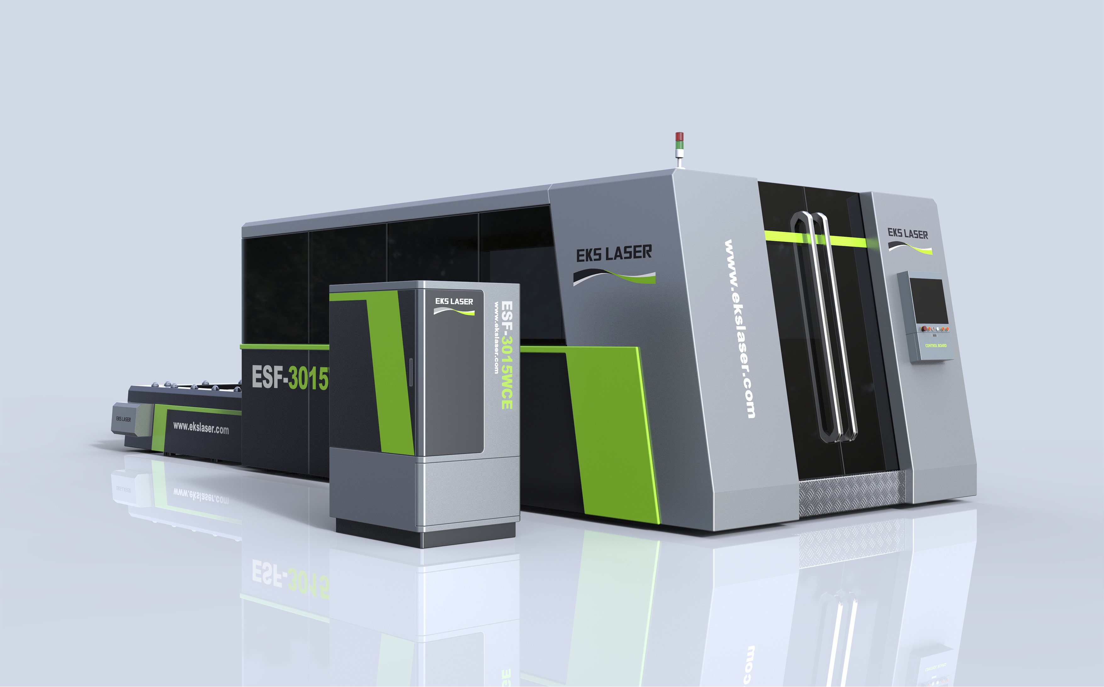 High Power Dual Table Steel Metal CNC Fiber Laser Cutting Machine