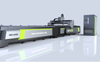 High-power dual-table laser cutting machine for automotive industry