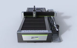 Technically innovative plate and tube metal laser cutting machine