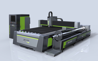 Intelligent metal material processing plate and tube laser cutting machine
